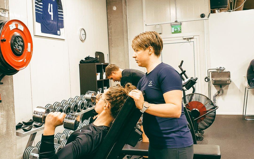 """Jonna Ilveksen BJJ fysiikkavalmennus: """"Halusin katsoa mitä kehostani saa irti."""""""