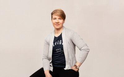 Valmentajaesittelyssä urheiluvalmentaja Hanna Nyyssönen