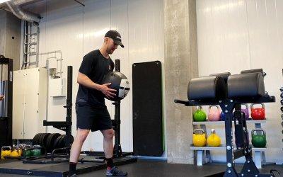 """Jääkiekkoilija Rasmus Rissasen jääkiekon kesävalmennus: """"Fiilis on, että nyt olen kunnossa"""""""